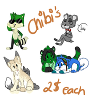 Chibi's by Terryburr