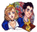 KQ2015 - Rosela and Alexander by KeyshaKitty