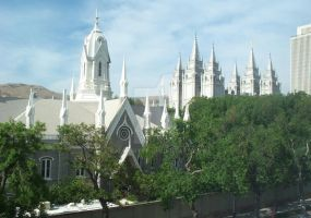 Salt Lake City - LDS Temple2 by calvinrtvp