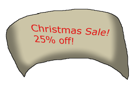 Christmas Sale by FantiaFantasyStories
