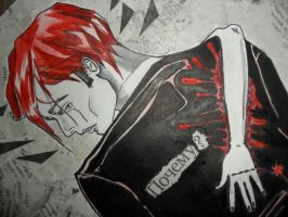 Gerard Way by DianaJaneArt