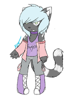 Anthro Adoptable : CLOSED by XxObscureVioletxX