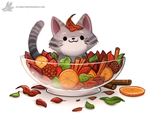 Daily Paint #1223. Potpurri by Cryptid-Creations