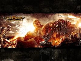God Of War 3 Wallpaper by vandit-the-bandit