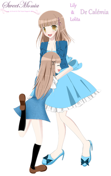 Lily And Lolita by SweetMonia