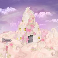 The cake house by CassiopeiaArt