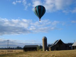 Hanging Over the Barn by deoris