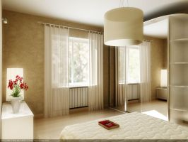 "Modern ""old style"" bedroom by rOSTyk"