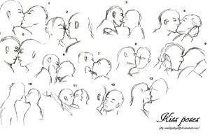 Kissing practice (self-reference) by MadilynBoyd