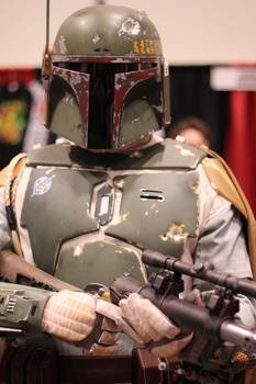 Boba Fett - Wizard World 2011 by tenleid