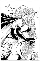 Lady Death 3 inks by madman1