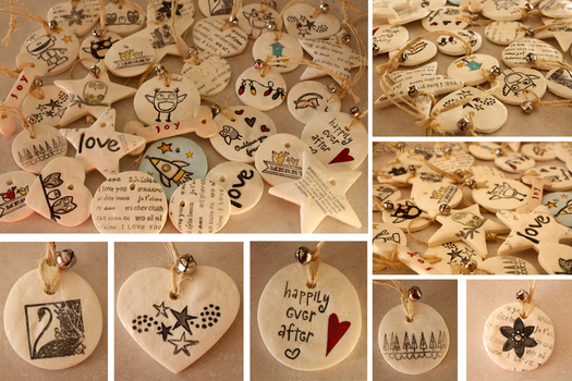 Christmas Ornaments 2013 by ScribalWriter