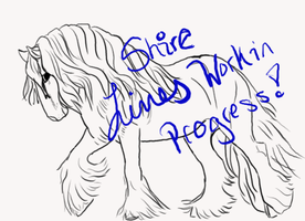 Shire Lines WIP Adoptable  Pick Your Color by LilWolfStudios