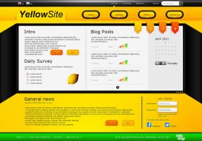 Yellow site by snakkDesign