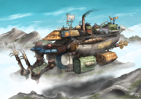 Armed merchant ship, Edde Ziatta by AoiWaffle0608