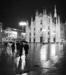 A rainy night in Milan by Milanogreg