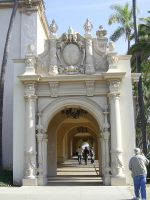 Balboa Archway Stock by chamberstock