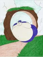 Sonic slob by Robot001