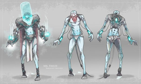 Mr. Freeze Redesign by BrotherBaston