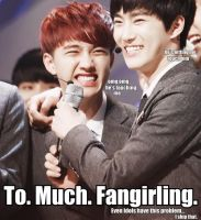 Suho and D.O Fangirling MACRO by dancingdots