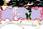 Nehelenia And Queen Serenity recolored by iliowahine