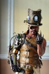 Steampunk Overlord, beckoning. by overlord-costume-art