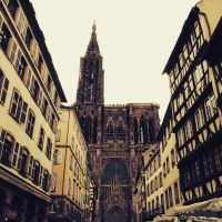 Strasbourg Cathedral by ambermariaalice
