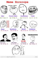 Meme Horoscopes by xeblic