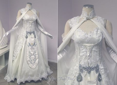 Princess Zelda Wedding Dress by Firefly-Path