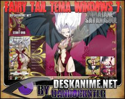 Mirajane Satan Soul Theme Windows 7 by Danrockster