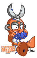 DLN03 Cutman by ApplesRockXP