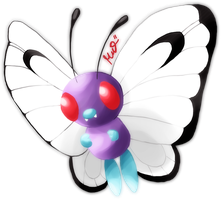 Butterfree by Metterschlingel