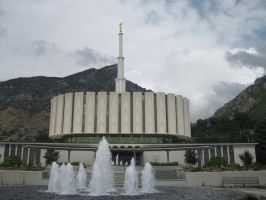 Provo Temple by Pupachu