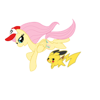 FlutterTrainer and Angelchu by Otterlore
