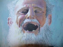 Old Man Painting by ThreeDSnack