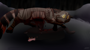 {Warriors} Blood Will Rule The Forest + Speedpaint by MayaArts