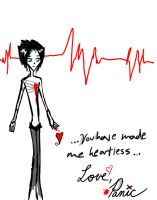A Love Letter From Panic by rcsi1
