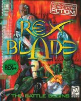 Rex Blade: The Battle Begins Front Cover by derrickthebarbaric