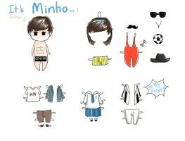 It is Minho ver.1 by KnotBerry