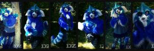 Fursuit Partial Commission For - Tariro by DexterousZombie