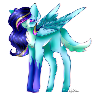 Finished picture of Lunicy ! by Starflare244