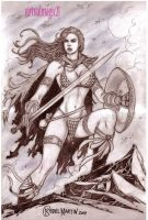 RED SONJA by RODEL MARTIN (04212013A) by rodelsm21