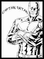 Captain Britain by LillithsBernard