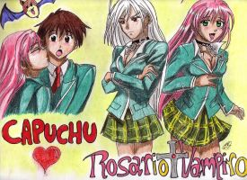 rosario to vampire by aranelia