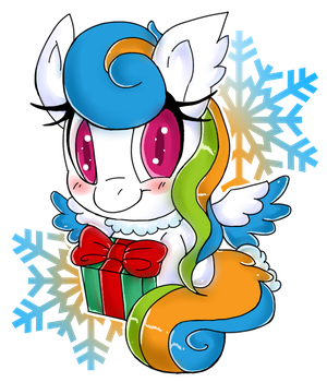 ~Christmas Chasing Clouds~ by CNWgraphis