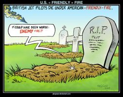 U.S. « FRIENDLY » FIRE by glogauer