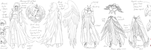 Aquila - character design references by FireEagleSpirit