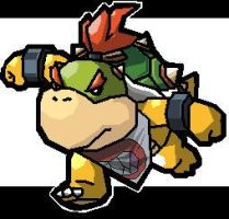 Bowser Jr MS Paint by jirachi-999