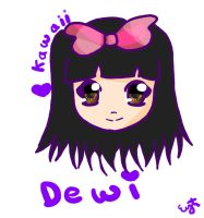Dewi's drawing request by Cici-Art