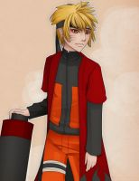 Naruto Sage Mode by neofirefly
